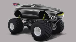 Project Sparta Is Aston Martin's First-Ever Monster Truck - New Cars ... Monster Truck Lands First Ever Frontflip This School Bus Is Just So Cool For Photo Album Grim Reaper Monster Crushes Cars On The Day Of Stock First Front Flip With A Badchix Magazine Truck Front Went To My Jam Event Yesterday Son Trucks Fun At Monsignor Clarke Rhode Watch Worlds Flip I Loved My Rally Kotaku Australia Cake Wonky Cakes