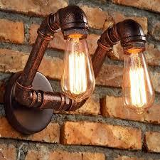 aliexpress buy retro industrial loft pipe wall light sconces