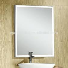 wall mirrors led lighted 10x wall mirror milli swivel wall