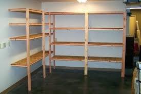 diy hanging garage shelvesbuilding storage ideas wood shelf plans
