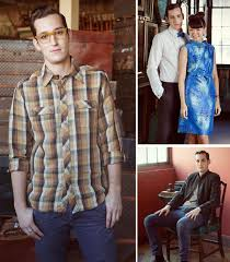 Featured Mens Projects From The Book Clockwise Left 1 1940s Frank Button Down Shirt 2 1960s David Tuxedo Modeled With