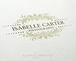 Premade Logo Design Photography Business By Logomotive