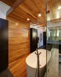 modernes bad mit holz 27 ideen für möbel boden wand decke