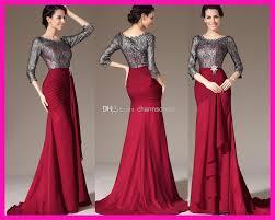 burgundy chiffon grey lace scoop 3 4 sleeves sheath sheer floor
