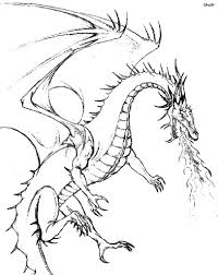 Cool Coloring Pages Licious Dragon For Adults