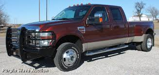 2008 Ford F350 Super Duty King Ranch Crew Cab Pickup Truck |...
