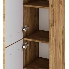 30x130x35 badezimmer midischrank stehend oder hängend lemnas