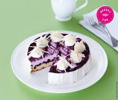 lila heidelbeer torte