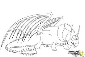 How To Draw Skullcrusher From Train Your Dragon 2