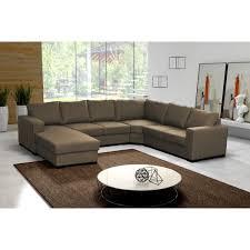 canapé d angle 7 places cuir canapé d angle 6 à 7 places oara pas cher canapé en u panoramique