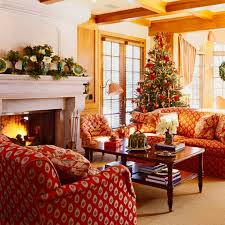 French Country Living Rooms Decorating by 60 Elegant Christmas Country Living Room Decor Ideas Family