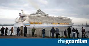 the world s largest cruise ship and its supersized pollution