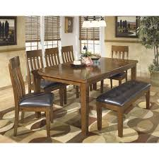 Signature Design By Ashley Ralene Casual 7 Piece Dining Set With