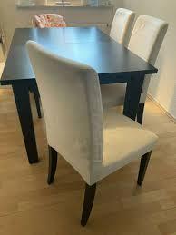 ikea esszimmer tisch inkl 4 stühle ikea