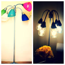 Black Multi Arm Floor Lamp by From This To That Floor Lamp Growth Childhood Color To Hipster