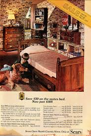 1977 home furnishings ad sears open hearth country child flickr
