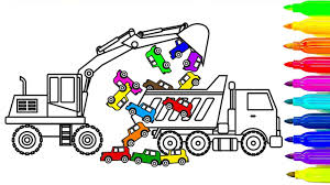 How To Draw Dump Truck Coloring Pages, Learn Colors For Kids With ... How To Draw Dump Truck Coloring Pages Kids Learn Colors For With To A Art For Hub Trucks Boys Make A Cake Hand Illustration Royalty Free Cliparts Vectors Printable Haulware Operations Drawing Download Clip And Color Page Online