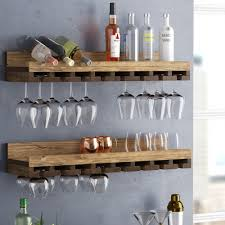 100 Glass Racks For Trucks Trent Austin Design Bernardo Rustic Luxe Tiered Wall Mounted Wine