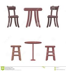 Wooden Chairs And Round Tables Isolated On White Stock Vector ... Grey Glass High Gloss Ding Table And 4 Chairs Set Bar Table And Two High Stool Chairs Modern Design Stock Photo 40 Excellent Two Seater Online Bistro With Stools Fniture Tables On Amelia Twotone Wood Barstools Room Ideas Ikea Small Top Round 84 Off Counter Garden In N21 Ldon For 4000 Sale Shpock With Home Design Modern Extension Tags Ding Bar