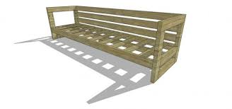 Outdoor Table Plans Free by Free Diy Furniture Plans How To Build An Aegean Outdoor Sofa