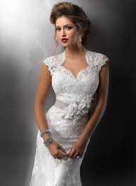 Vintage Lace Wedding Dress With Open Back