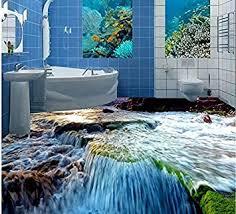 400 cmx 280 cm3d wasser steinboden badezimmer 3d wallpaper