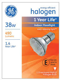ge lighting 69163 38 watt 490 lumen energy efficient halogen