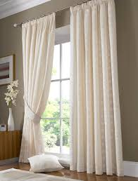 Jcpenney Curtains For Bay Window by Decor Blue Jc Penney Curtains With Dark Wood Windows Casing Style