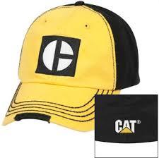 cat merchandise cat merchandise cat caps caterpillar cat gold black fitted m