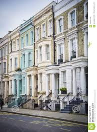100 Notting Hill Houses Stock Photo Image Of Burgundy Green Property 105061544