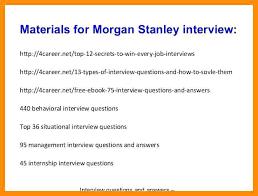 Morgan Stanley Cover Letter Colbro