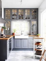 The Kitchen Above Shows How You Can Cleverly Add Storage Space Around A Window Area Without It Looking Overcrowded Having Glass Fronted Doors