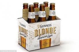 Guinness is going blonde with a new light colored beer that is