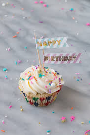 Momofuku Milk Bar Cake Turned Birthday Cupcakes