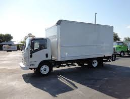 2018 Used Isuzu NPR HD 16FT DRY BOX..TUCK UNDER LIFTGATE BOX TRUCK ...