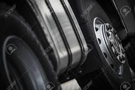 100 Heavy Duty Truck Wheels Semi Closeup Photo Commercial