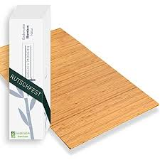 green n modern badematte aus bambus rutschfest bambusmatte als badteppich badezimmer holz bambus duschvorleger hygienisch holzteppich