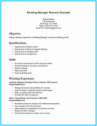 Banking Executive Sample Resume Bank Teller Manager Best Of