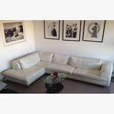 canapé d angle roche bobois canapé cuir mobilier de luxury canapé d angle cuir blanc