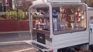 Piaggio Ape Coffee Van From Coffee Latino - YouTube