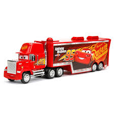 Jada - Cars 3 Diecast Mack Truck Hauler 1:32 Cars 2 Mack And Wally Hauler Exclusive Semi Trucks Disney Pixar Truck Paulmartstore Buy Disneypixar Large Scale Online At Low Toys In India 2013 Deluxe Mattel Diecast 3 Mack Truck With Trailer Jada 124 Walmart Exclusve Ebay World Of Prsentation Du Personnage Mac Rusteze Lightning Mcqueen Carry Case Big 24 Diecasts Tomica Semi Cab Bachelor Pad Playset Transporter Diecast Vehicle 155