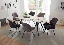 2er set alica stuhl esszimmerstuhl stühle esszimmerstühle dunkelgrau