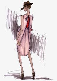Drawing Girls Fashion Female Model Street Beat Modern Free PNG Image