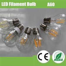 a60 6w filament led bulb with factory price for philippines view