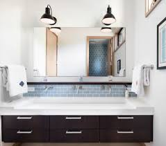 Wall Mounted Waterfall Faucets Bathroom by San Francisco Wall Mounted Handrail Bathroom Transitional With