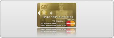 crédit agricole sud rhône alpes gold mastercard tous nos
