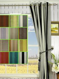 Vertical Striped Window Curtains by Petrel Vertical Stripe Eyelet Chenille Curtains Custom Curtains