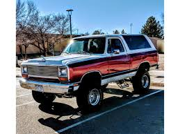100 Trucks For Sale In Colorado Springs 1987 Dodge Ramcharger For ClassicCarscom CC1093292