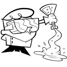 31 Dibujos De Dexter Para Colorear Oh Kids Page 1