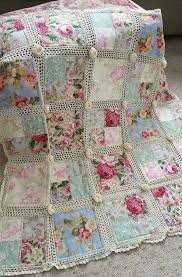 Simply Shabby Chic Bedding by Shabby Chic White Patchwork Quilt Crib Rag Quilt Baby Crib